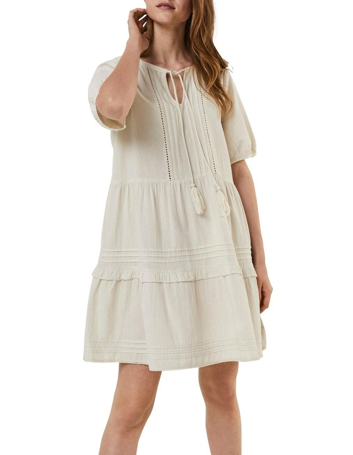 Ibia Embroidered Short Dress image 1