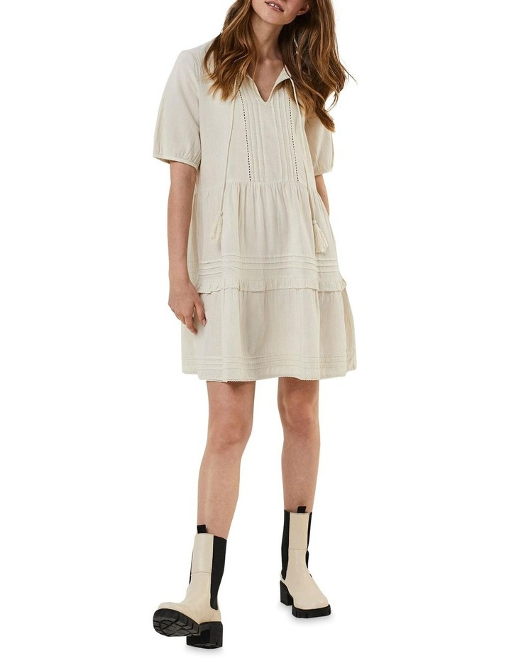 Ibia Embroidered Short Dress image 3