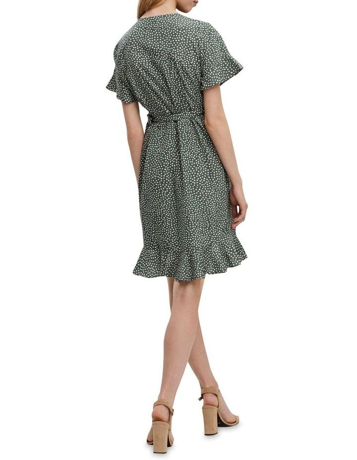Henna Wrap Frill Dress image 2