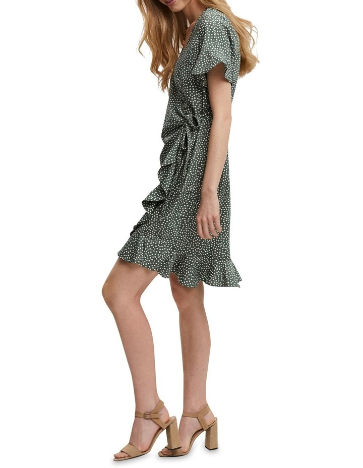 Henna Wrap Frill Dress image 3