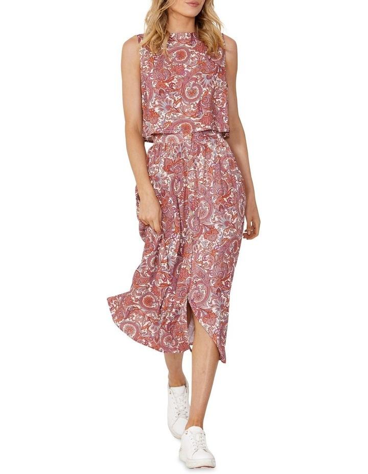 Raina Paisley Midi Skirt image 1