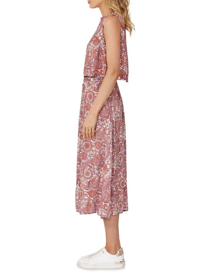 Raina Paisley Midi Skirt image 3