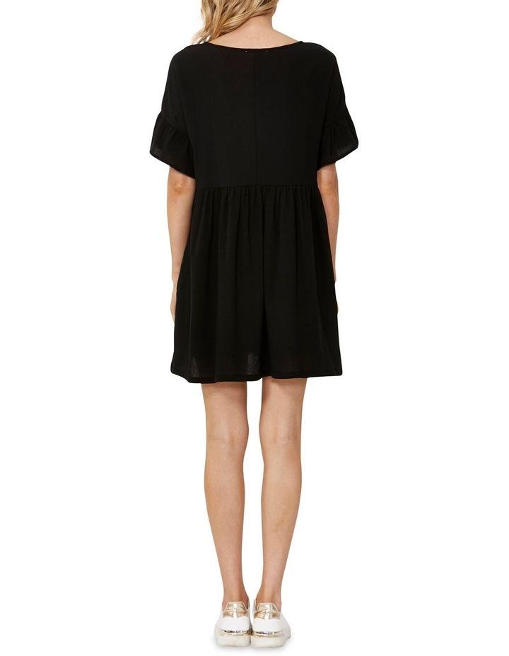 Lana Smock Mini Dress Black image 2