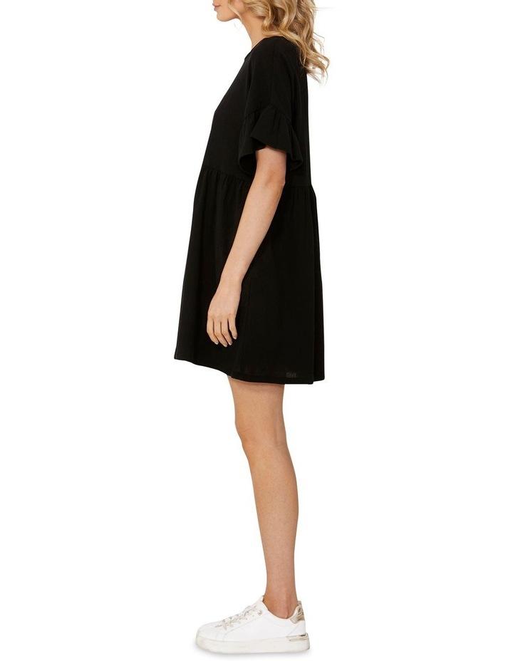 Lana Smock Mini Dress Black image 3