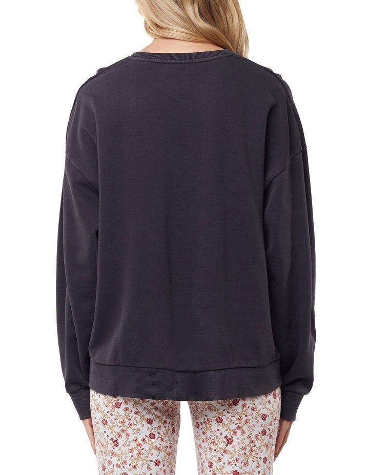 Harlow Black Oversized Sweater image 3