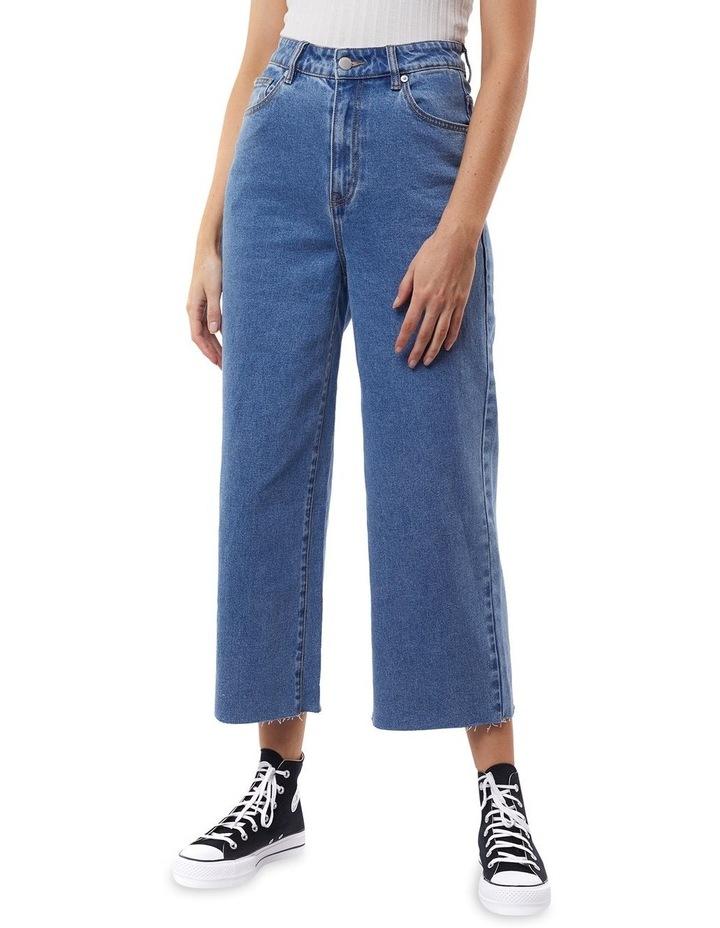 Charlie Denim High Rise Wide Leg Jean image 1