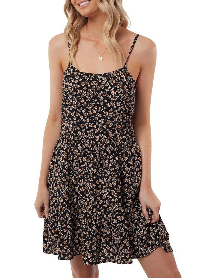 Kali Mini Dress Black Print image 1