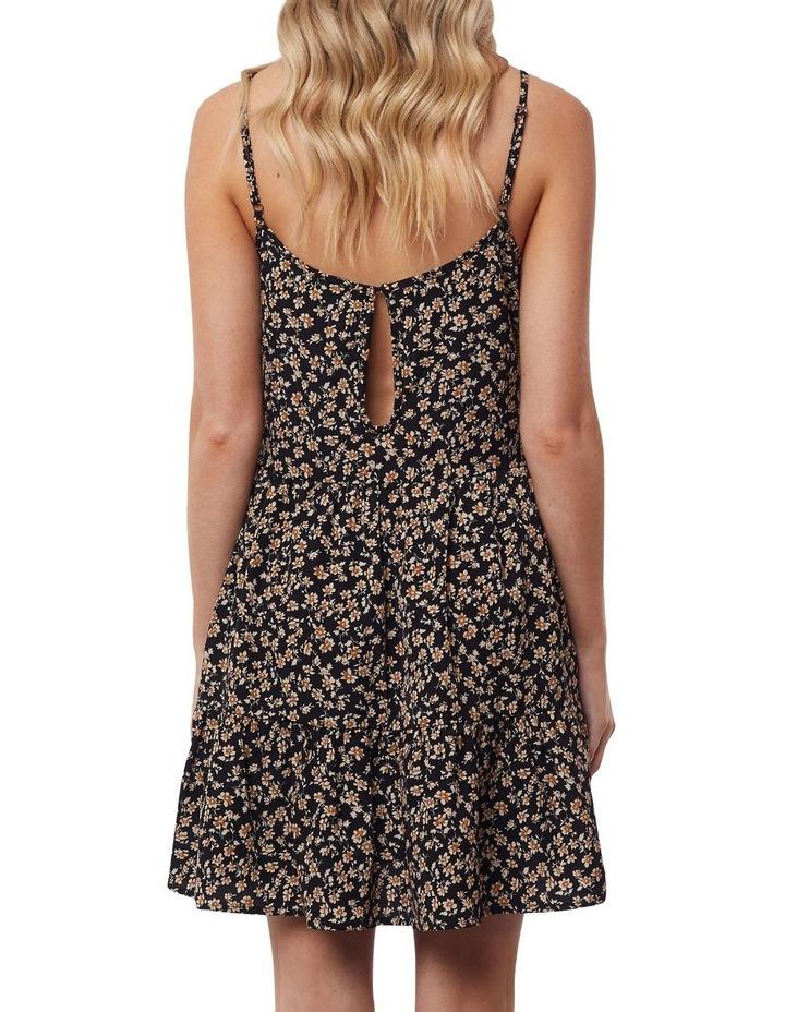 Kali Mini Dress Black Print image 2