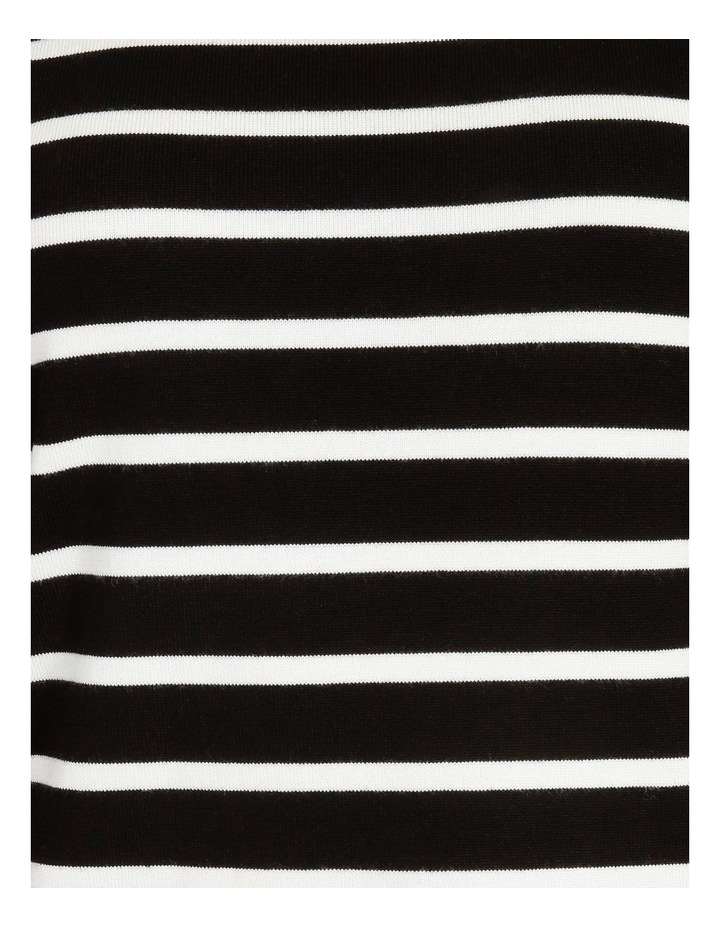 Puff Long Sleeve Striped Sweater image 6