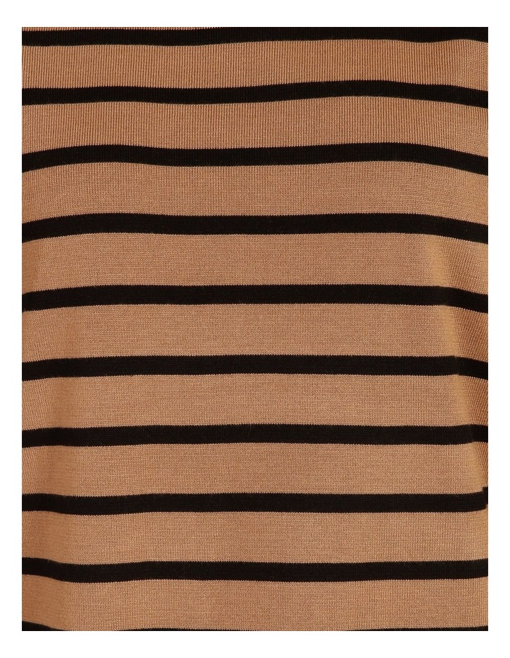 Puff Long Sleeve Stripe Sweater image 6