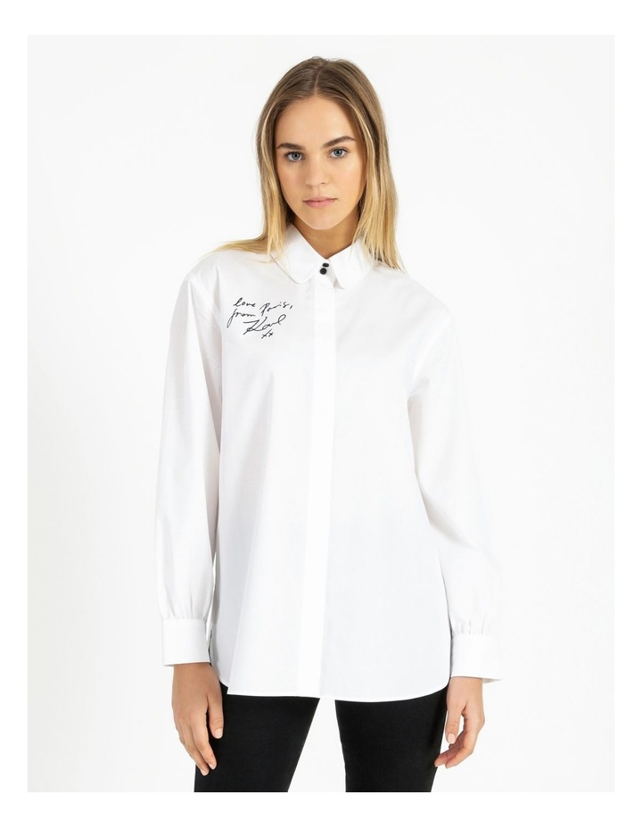 Two Button Oversized Shirt image 1