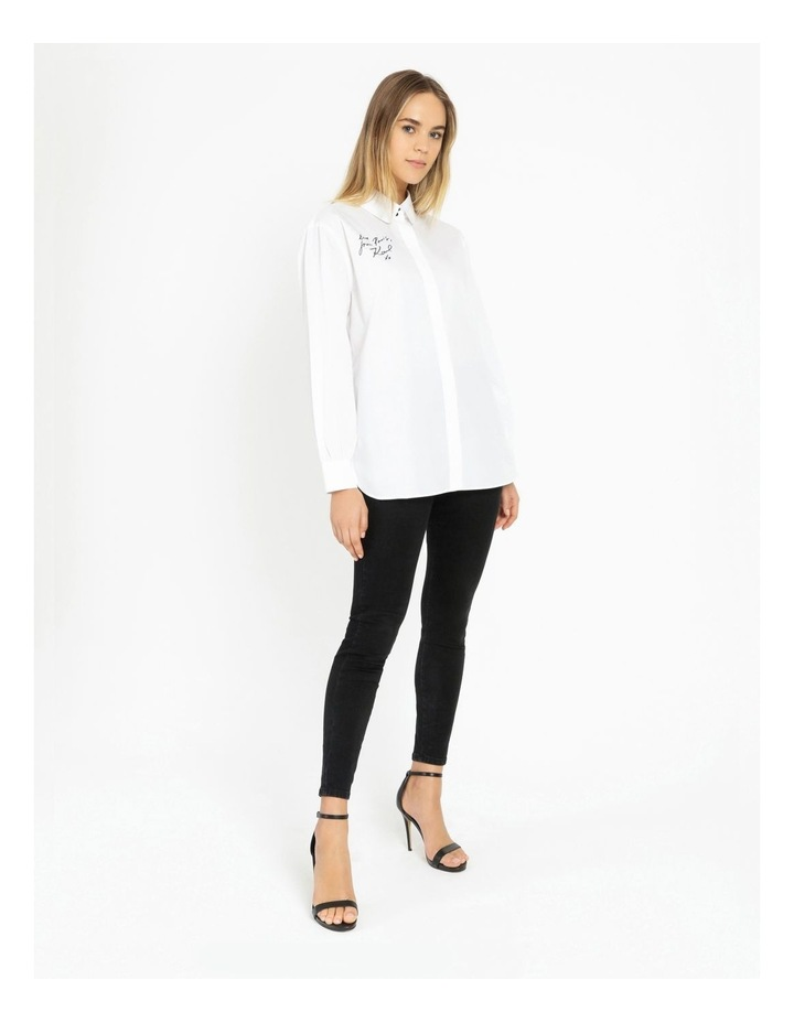 Two Button Oversized Shirt image 2