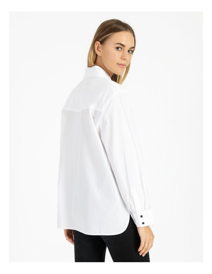 Two Button Oversized Shirt image 3