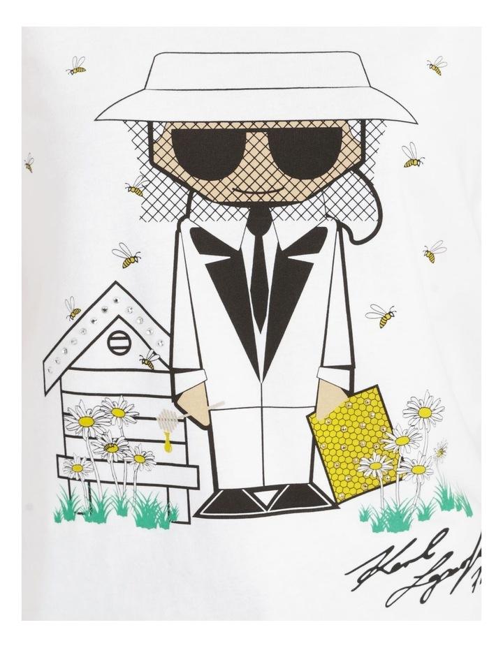 Bee Keeper Tee White image 2