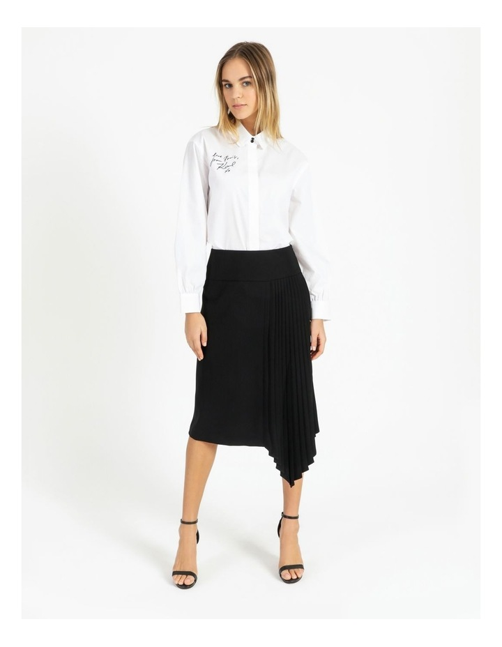 Skirt With Ruffle Side Detail image 6