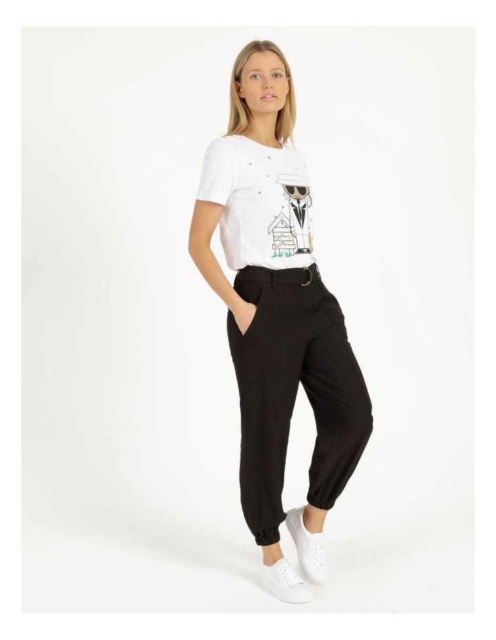 Jogger Pant With Belt image 1