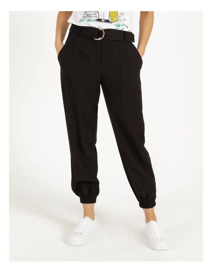 Jogger Pant With Belt image 2