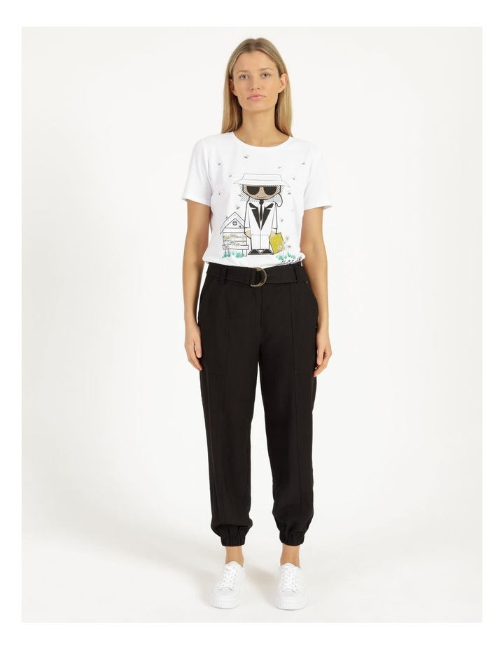 Jogger Pant With Belt image 3