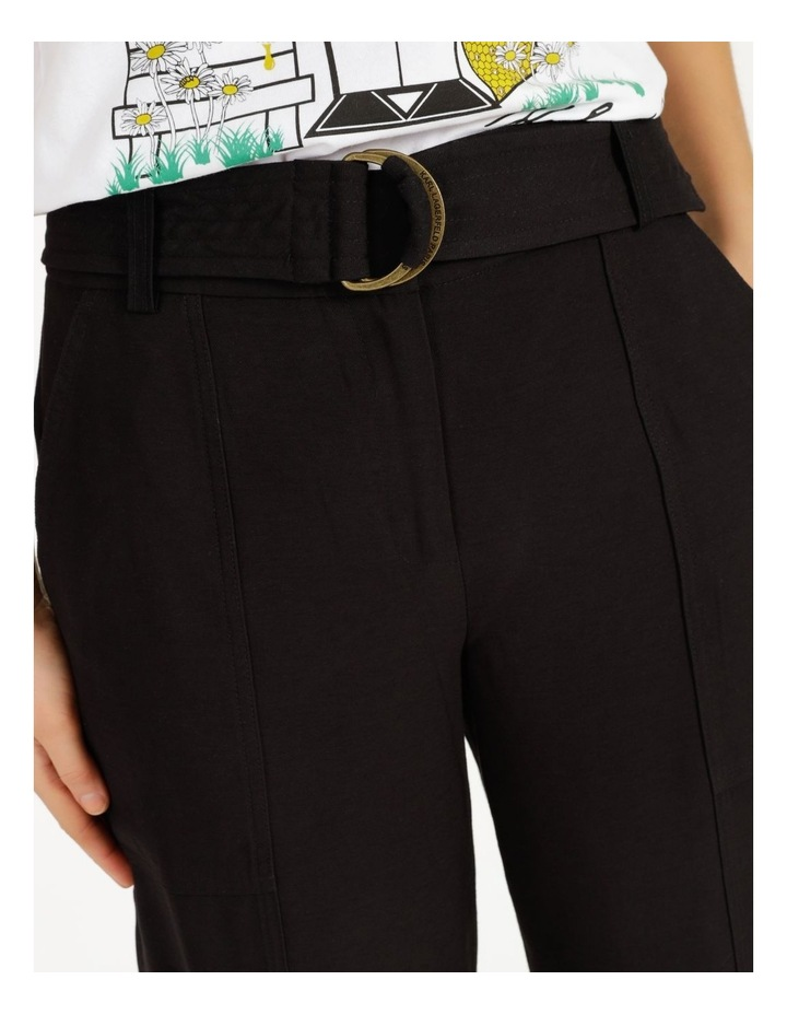 Jogger Pant With Belt image 5