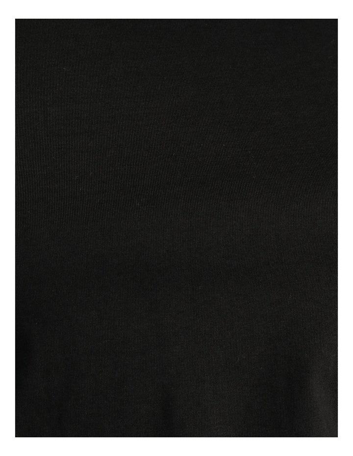 Onella Short Sleeve O-Neck Top Black image 7