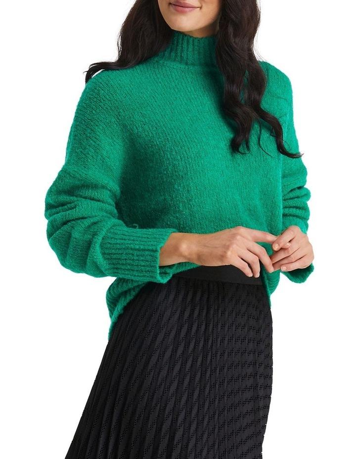 Sara Knit Jumper Pine Green image 3