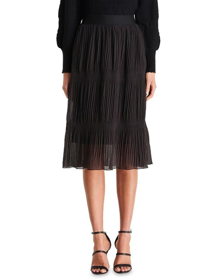 Ellen Plisse Midi Skirt image 1