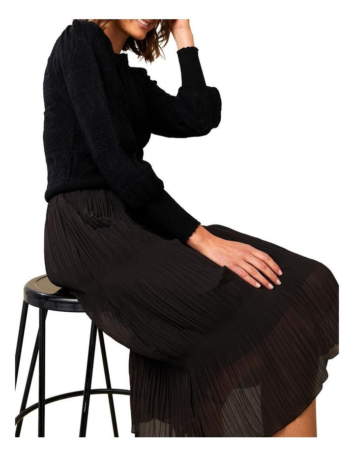 Ellen Plisse Midi Skirt image 4