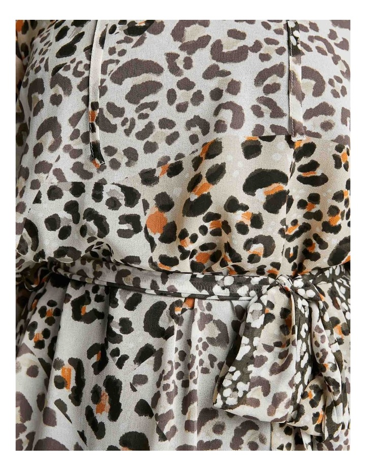 Leopard Splice Dress image 4