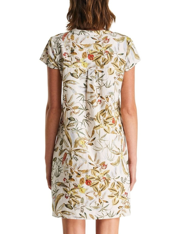 Daintree Forest White Shift Dress image 2