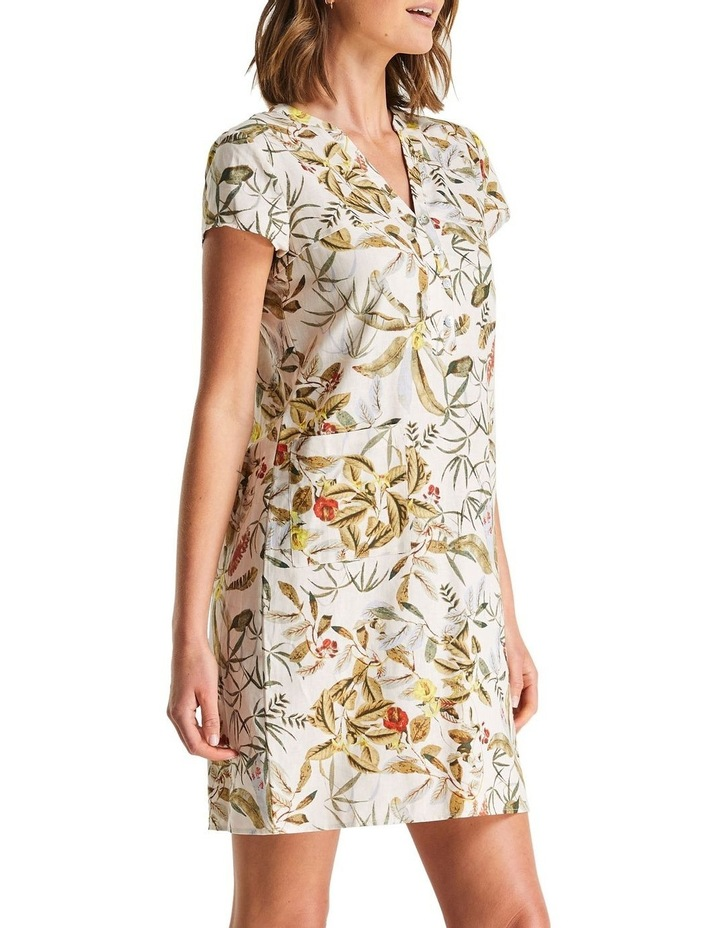 Daintree Forest White Shift Dress image 3