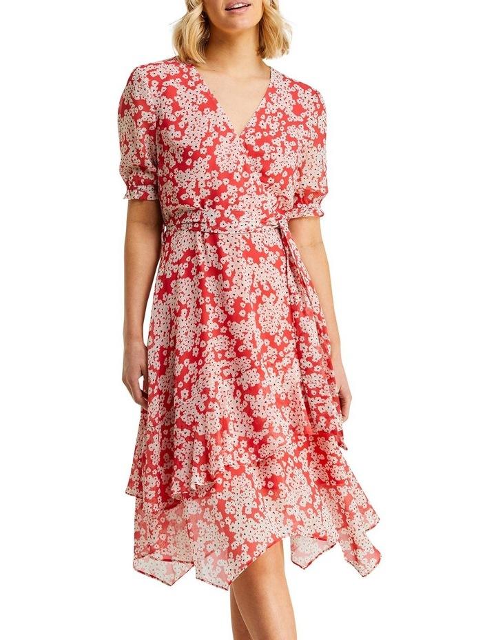 Coral Daisy Dress image 1