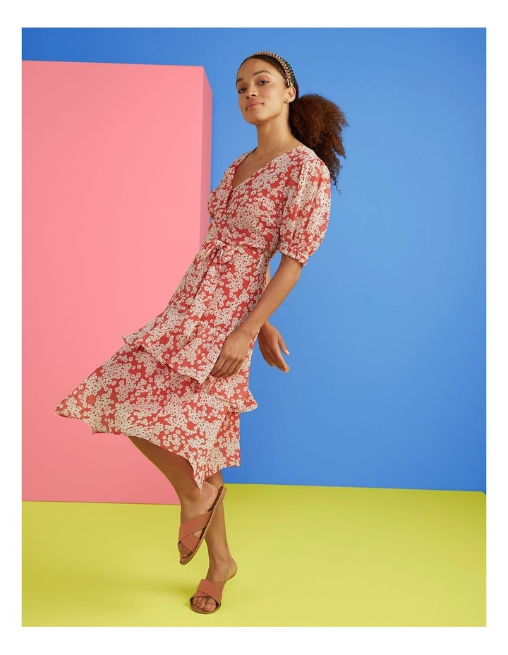 Coral Daisy Dress image 2