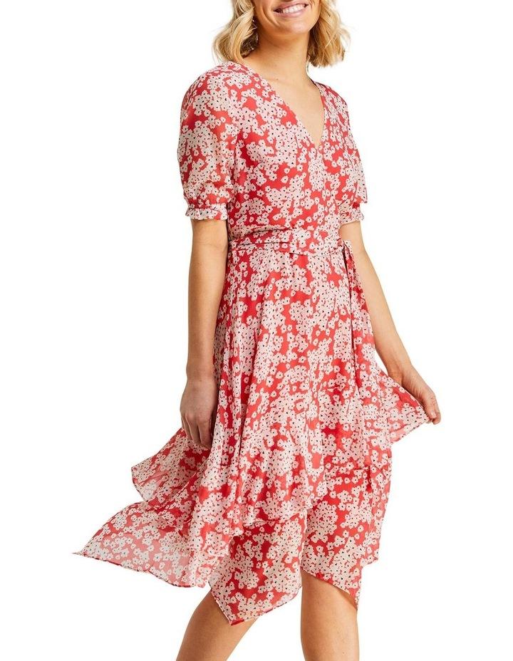 Coral Daisy Dress image 4