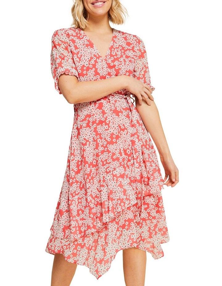 Coral Daisy Dress image 5