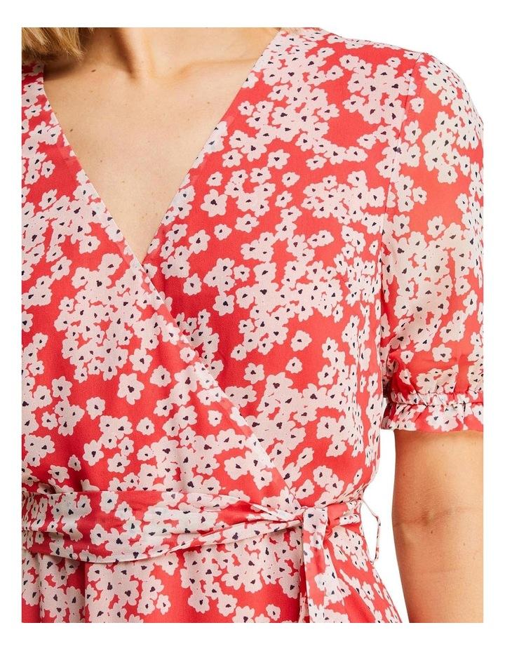 Coral Daisy Dress image 6