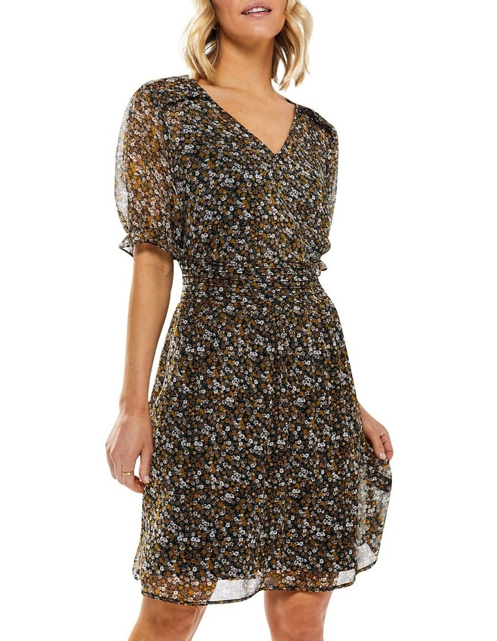 Noir Ditsy Dress image 4