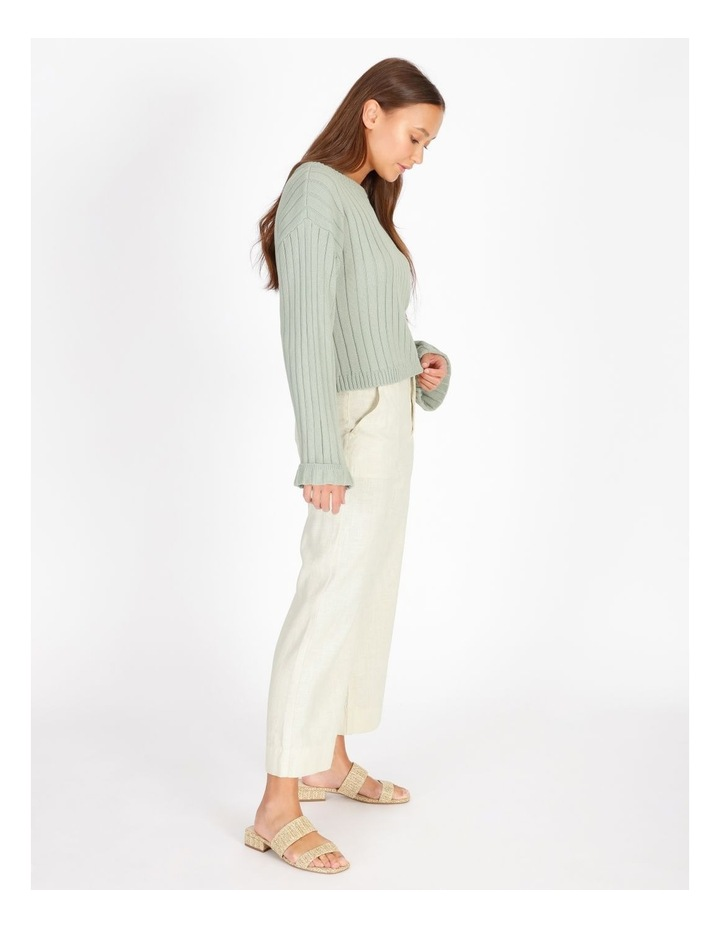 Wide Neck Relaxed Knit image 2