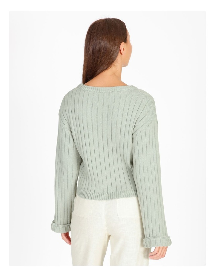 Wide Neck Relaxed Knit image 3