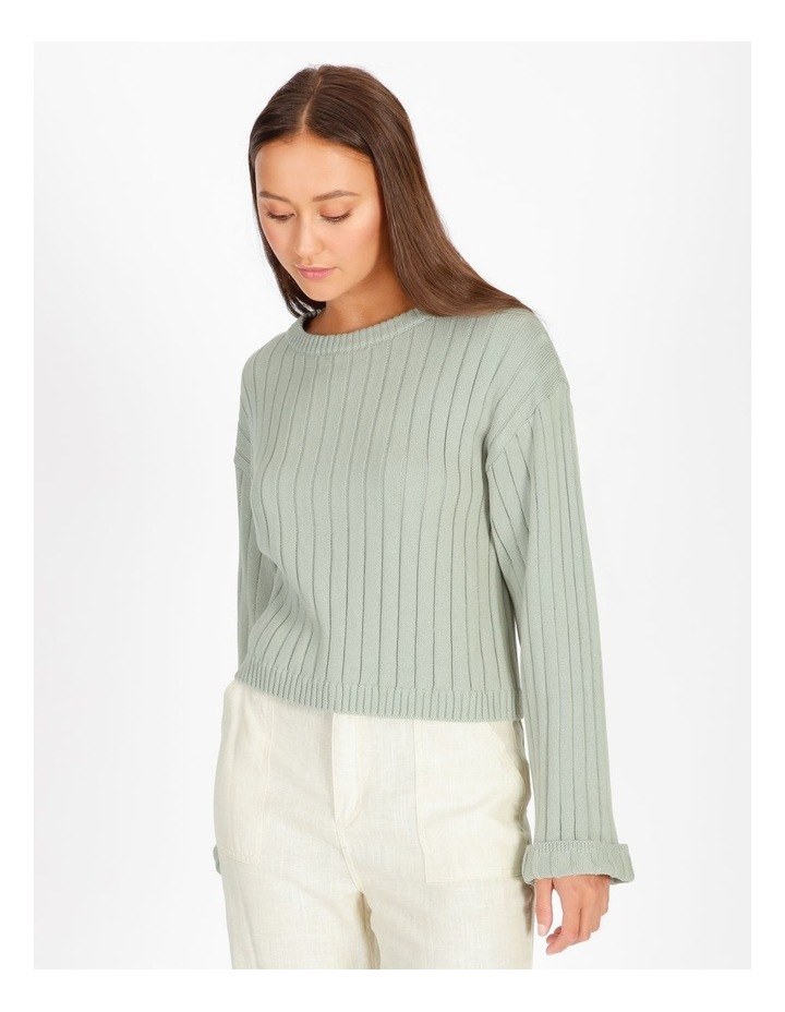 Wide Neck Relaxed Knit image 4