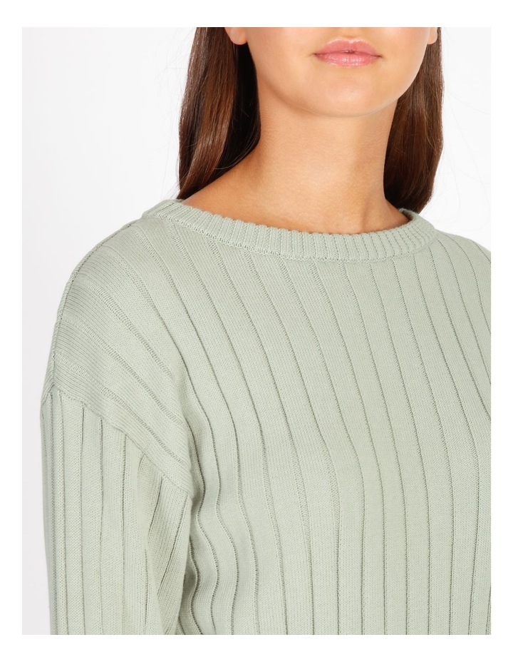 Wide Neck Relaxed Knit image 5