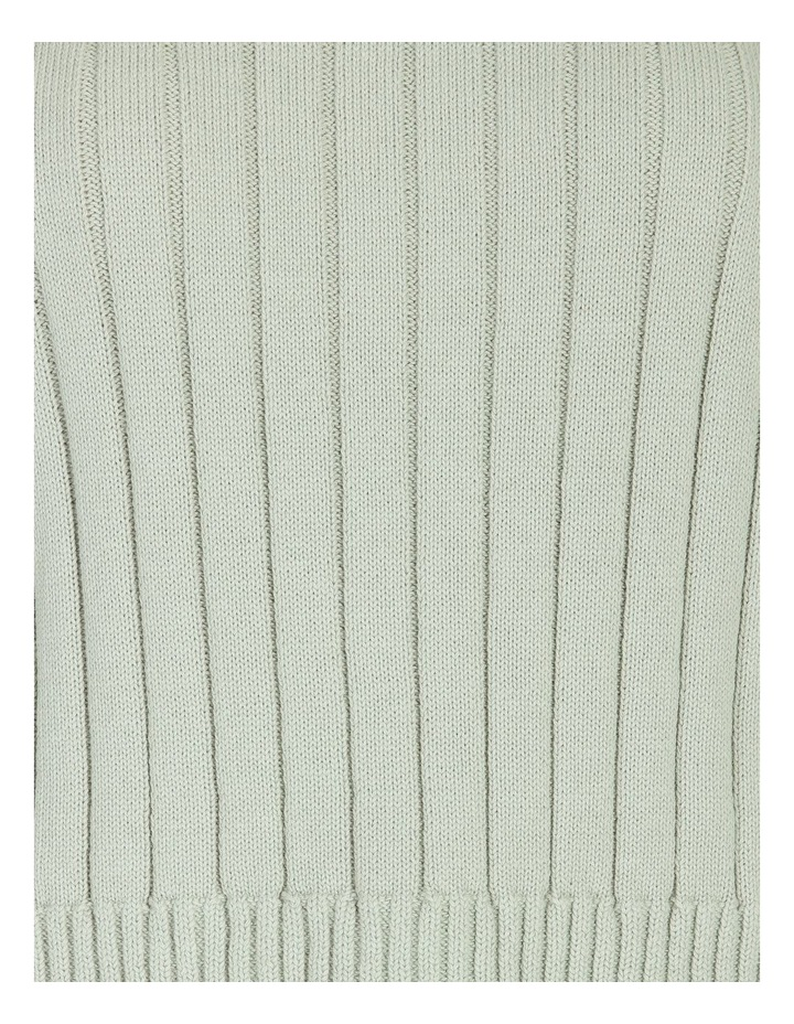 Wide Neck Relaxed Knit image 7