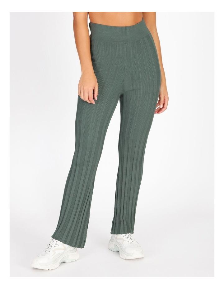 Ribbed Stripe Pants image 1