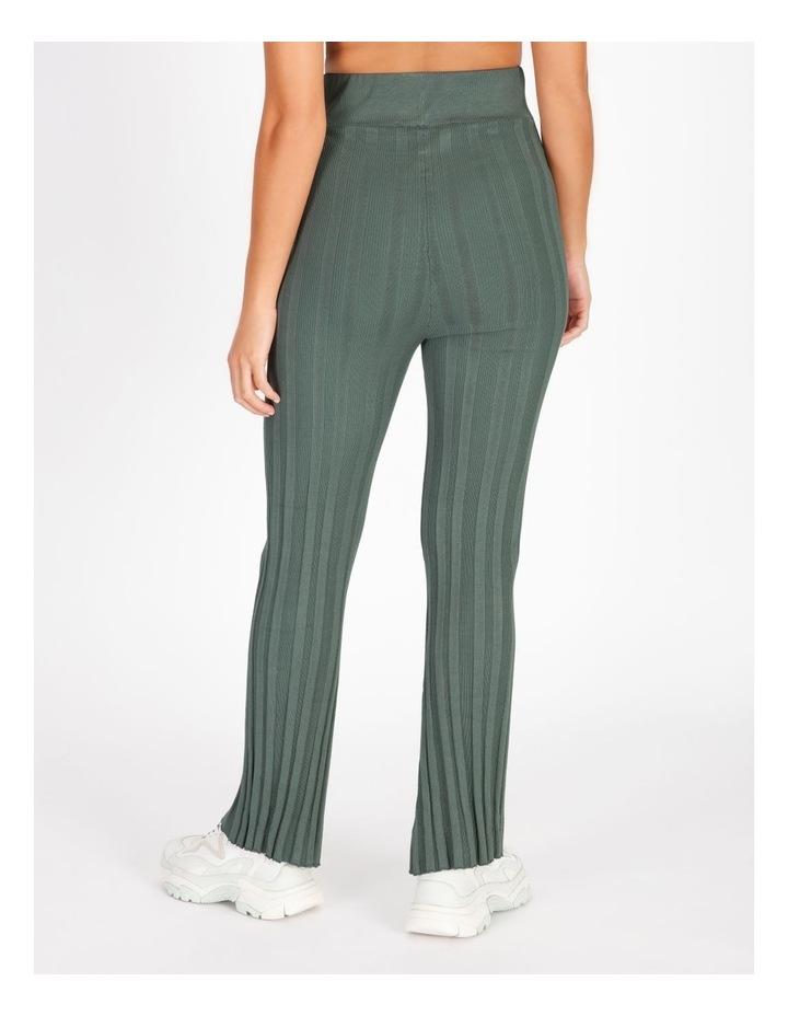 Ribbed Stripe Pants image 3