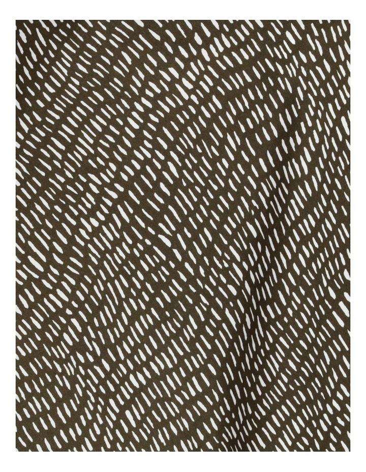 Slip Skirt - Olive Dash Print image 7