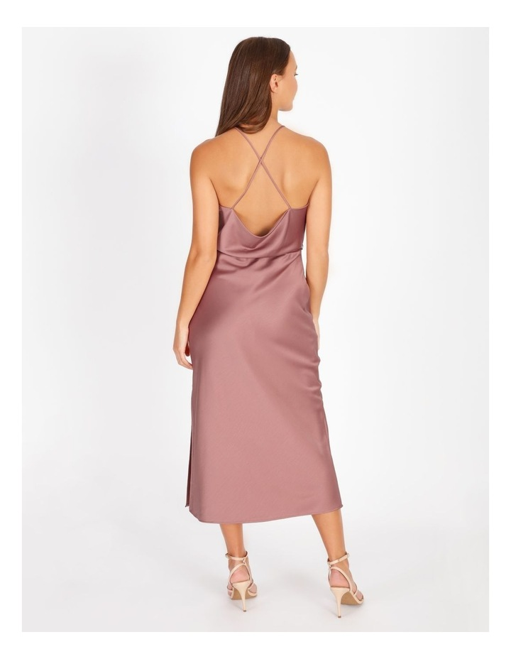 Halter Neck Cowl Back Slip Dress image 2