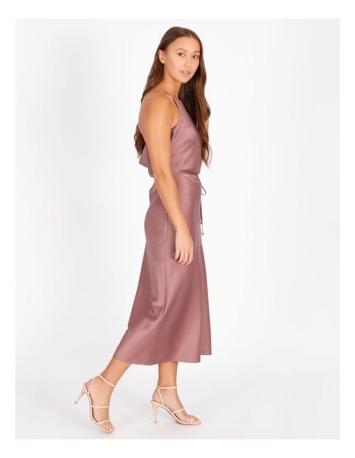 Halter Neck Cowl Back Slip Dress image 3
