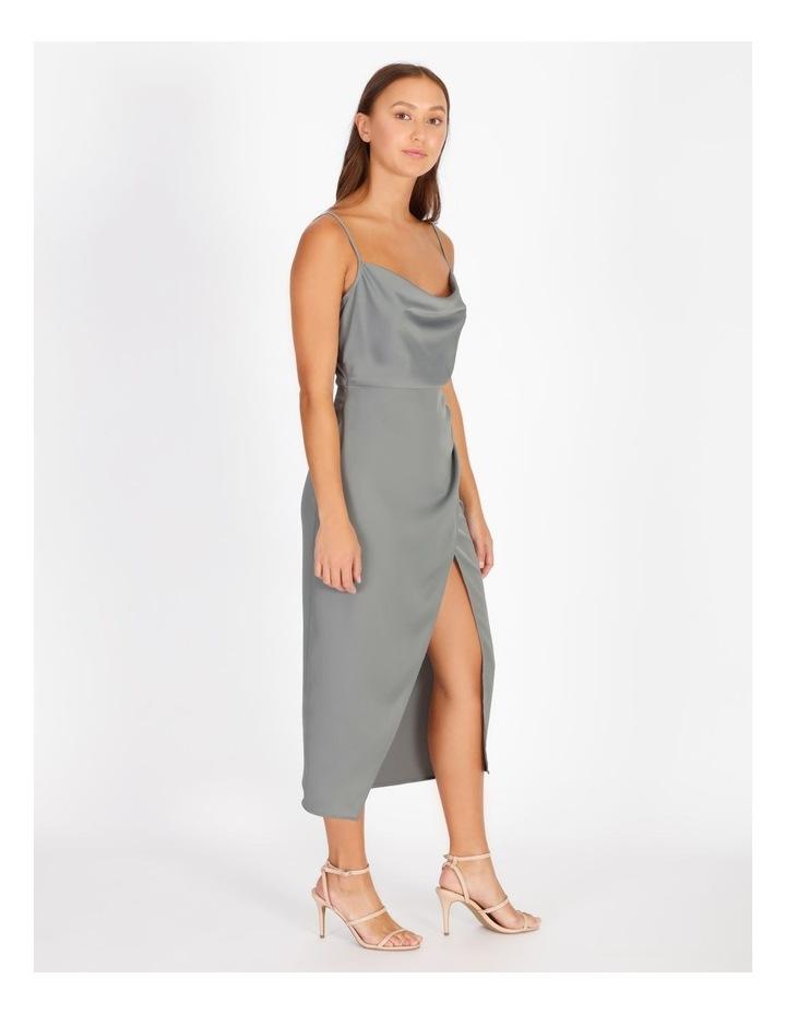 Gather Wrap Slip Dress image 2
