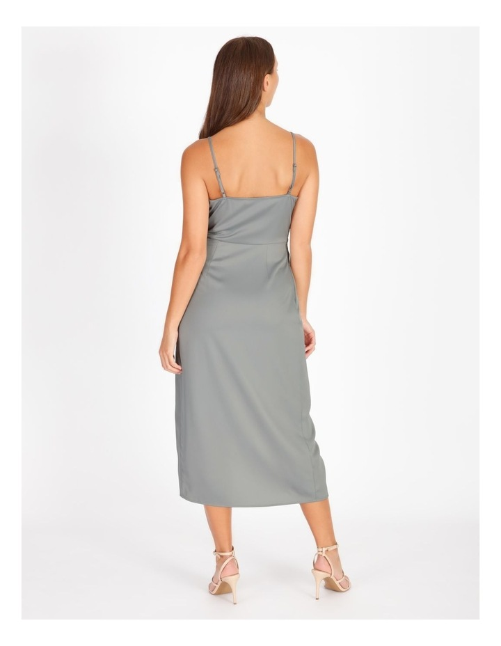 Gather Wrap Slip Dress image 3