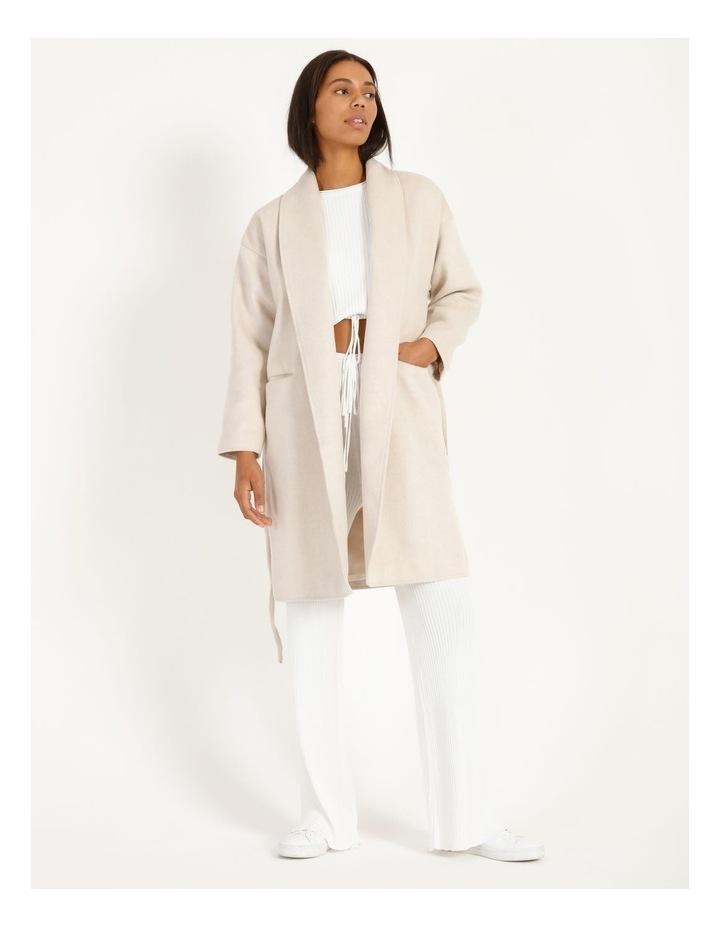 Longline Belted Coat image 1