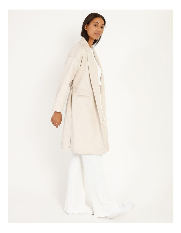 Longline Belted Coat image 2